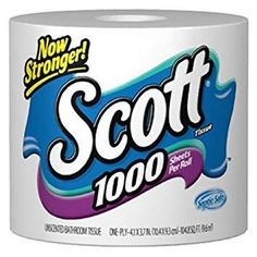 Scott White Bathroom Tissue