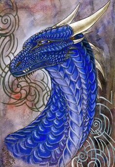 Portrait of a golden dragon, Saphira and Eragon's teacher. I decided to freshen up a bit this series, if any, will be continued... Saphira deygira-blood.deviantart.com/a… Eragon deygira-bloo...