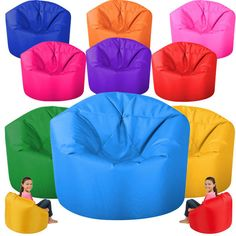 Large Beanbag X-Large Bean Bags Kids Tween Children Chair Childs Gamer Bag Game