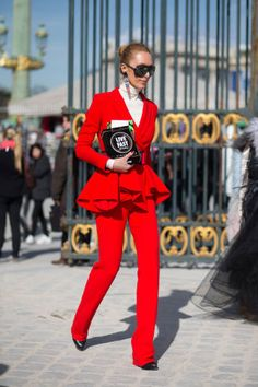 The top 9 street style trends spotted at Fashion Week.