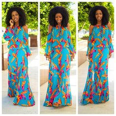 Today's Outfit: Bohemian pleated maxi.