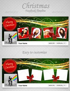 Christmas FB Timeline V8  #GraphicRiver