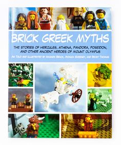 This looks great! Brick Greek Myths Paperback | zulily