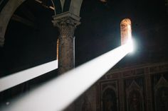 ITAP of light shafts in a Florence hilltop church http://ift.tt/2kIMRel