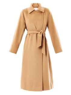 OBSESSED with this MAXMARA camel coat. Seen on Kim Kardashian