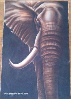 Painting Elepaint : thaistyle-shop.com
