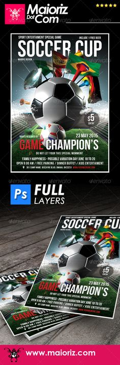 Brazil Games Sc Flyer Template  Flyer Template Flyers And Game