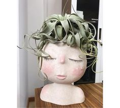 If you have a time frame, please contact me first to find out the delivery time. The package is sent from China and can go up to 3 weeks. THANK YOU!  Want something special for your home green decor? Check out this Head Planter!  - This planter will definitely add joy and happiness to your home -