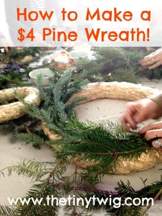So, I LOVE fresh pine. But, I also love the massive cost savings that come from utilizing an artificial Christmas tree....