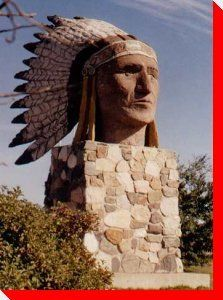 Indian Head sculpture from Indian Head, Saskatchewan O Canada, Canada Travel, Western Signs, Discover Canada, Canadian Things, Indian Head, Roadside Attractions, Need A Vacation, Le Far West