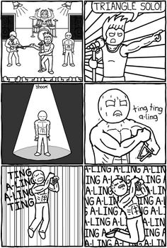 Mr. Lovenstein :: Triangle Solo! | Tapastic Comics - image 1