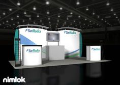 Nimlok specializes in portable modular displays and healthcare exhibits. For SurModics, we created a custom booth solution to meet their marketing needs.