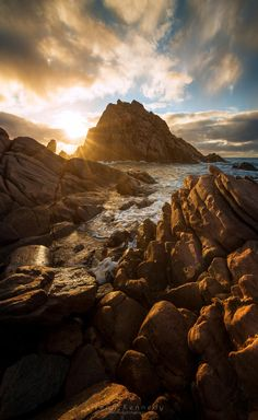 Sugarloaf sunset, Cape Naturaliste Western Australia. #places