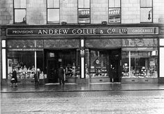Collies, Union Street, high end grocer. Think where the new Italian, Amarone, is now.