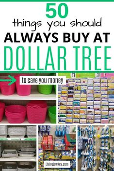 Ever wondered what to buy at the Dollar Tree? Well here is the most amazing list of you should buy at the Dollar Tree to save you money. I wouldn't buy these money saving essentials anywhere else. Saving Money Quotes, Best Money Saving Tips, Money Tips, Dollar Store Hacks, Dollar Stores, Dollar Dollar, Dollar Money, Dollar Tree Store, Save Your Money