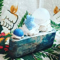 Stormy Winter Day Soap ❄☃ Made in the memory of a cold and frosty winter day while you stay in a warm and cosy home looking outside the… Winter Day, Handmade Soaps, Soap Making, Cosy, Snow Globes, The Outsiders, Design Inspiration, Memories, Warm