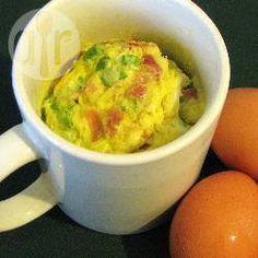 Foto recept: 5 minuten omelet in een mok