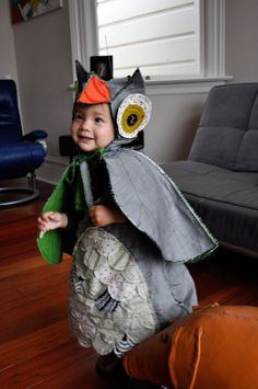 Make: Crazy Owl Costume - we don't have halloween in SA, but this would be so much fun for dress up!