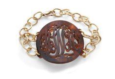 Monogram bracelet #monogram