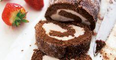 Hot Chocolate And Marshmallow Cake Roll Recipe — Dishmaps