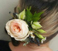 david austin roses hairpieces