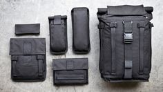Mission Workshop has launched its new modular backpack series called the Arkiv Field Pack.