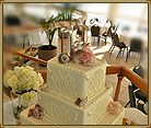 Florida Beach Weddings | St. Pete Beach Weddings | Grand Plaza Beachfront Resort.  Shell Wedding Cake
