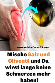 mische salz und olivenol und du wirst lange keine schmerzen mehr haben 2 delivers online tools that help you to stay in control of your personal information and protect your online privacy. Wellness Activities, Wellness Tips, Health And Wellness, Health Care, Health Fitness, Daily Health Tips, Health Articles, Health Questions, Blog Love