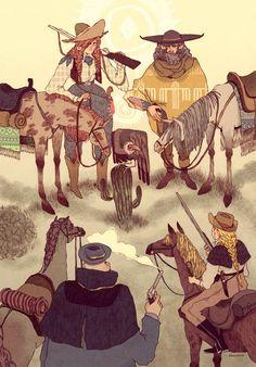 Las ilustraciones editoriales de Nuria Tamarit | Blog de diseño gráfico y creatividad.