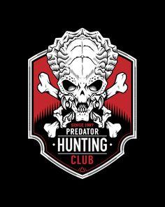 Predator Hunting Club T-Shirt - Movie T-Shirt