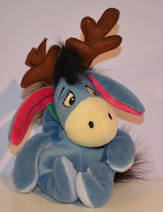 Reindeer Eeyore, a Disney store beanie. I have one of these.