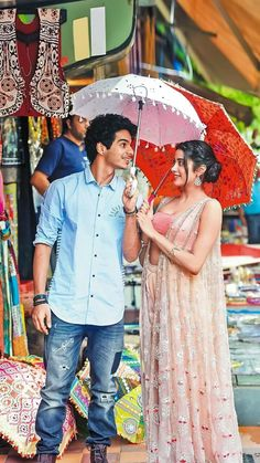 dating Ishan Khatter, the co-star of her debut movie 'Dhadak'. Bollywood Images, Bollywood Couples, Bollywood Stars, Bollywood Fashion, Indian Celebrities, Bollywood Celebrities, Bollywood Actress, Cute Couple Poses, Cute Couples