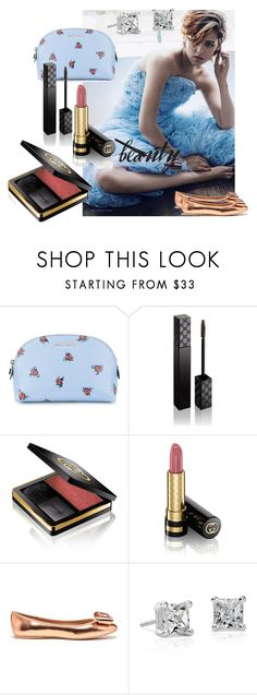 """Kristen....."" by used2bnewvintage ❤ liked on Polyvore featuring beauty, Vanity Fair, Miu Miu, Gucci, Ted Baker and Blue Nile"