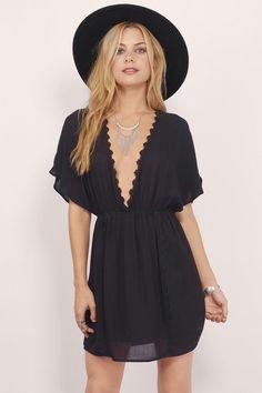 Jayda Cover Up Dress at Tobi.com | #SHOPTobi | #LittleBlackDress | Don't forget 50% off your first order!