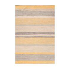 Yellow Pueblo Cotton Rug