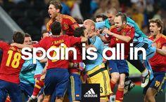 la Spagna è invincibile