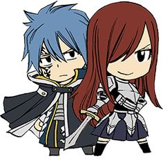 Chibi angry Erza ( ♡∀♡) | 5th favorite anime girls ...