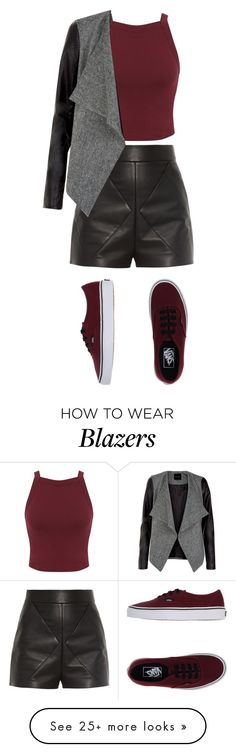 """Untitled #182"" by ajstewart on Polyvore featuring Balenciaga, Miss Selfridge and Vans"