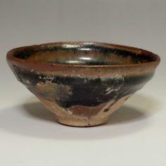 TENMOKU CHAWAN Vintage Chinese Jianyao Pottery Small Tea Bowl #2145 - ChanoYu online shop