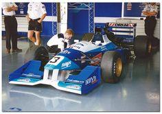 Didier Cottaz - Reynard 95D Cosworth AC- Paul Stewart Racing - BRDC International Trophy - 1995 International F3000 Championship, round 1 - © Antsphoto