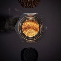 Golden Aeropress Coffee