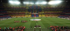 12th Man at Camp Nou in Barcelona, Spain