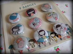 day trippers badges