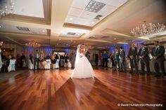 Beautiful photo of the bride and groom sharing their first dance together in the Sterling Ballroom, Tinton Falls, NJ. www.SterlingBallroomEvents.com Photo courtesy of David Humphreys Photography. #NJWeddings #Wedding #bride #groom #SterlingBallroomNJ #SterlingBallroom #CentralNJWeddings #TintonFalls #DoubleTree #NJBanquetHall #Venue #WeddingVenue #NJWeddingVenue