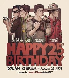 This is so cute♡ Dylan O'Brien   birthday