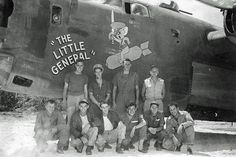 """""""The Little General"""". Gods And Generals, American Air, Elizabeth Montgomery, Airplane Art, Ww2 Planes, Military Personnel, Ww2 Aircraft, Lost Art, Aeroplanes"""