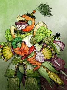 veggies and their vitamins - Google Search