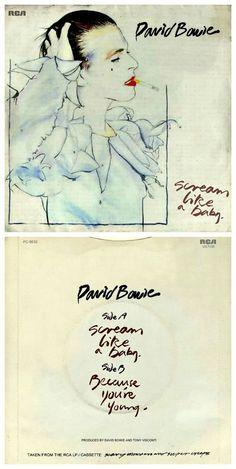 "David Bowie ""Scream Like A Baby"" 7-inch single::"