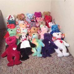 63d52f4c180 LOT 25 Ty BEAR Beanie Babies Princess ++ Ty Bears