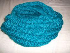 Schal mit Spiralmuster. Anleitung gibt es auf meinem Blog. diyschwingdienadel.wordpress.com